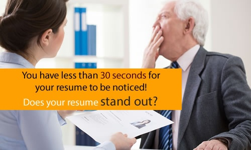 Does your resume stand out?