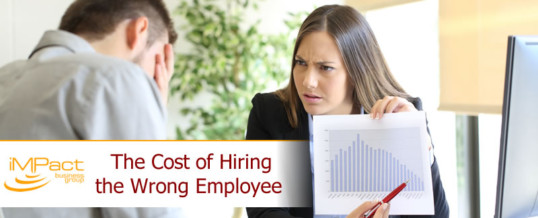 The Cost of Hiring the Wrong Employee