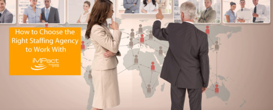 How to Choose the Right Staffing Agency to Work With