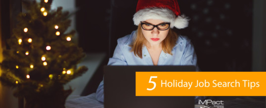 5 Holiday Job Search Tips