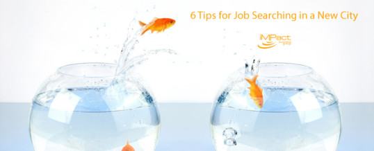 6 Tips for Job Searching in a New City